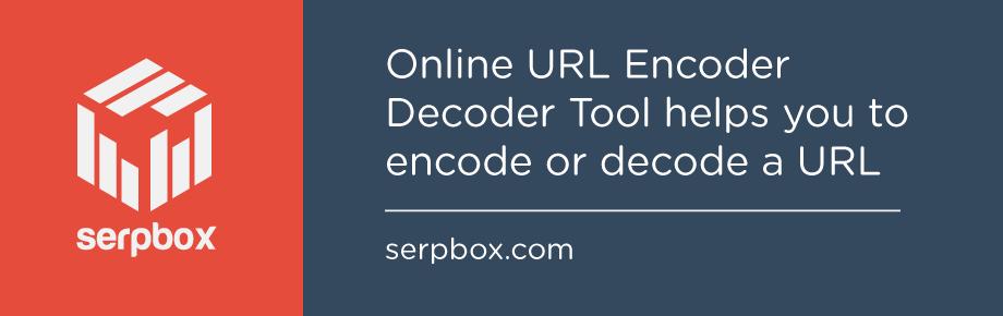 Online URL Encoder Decoder Tool