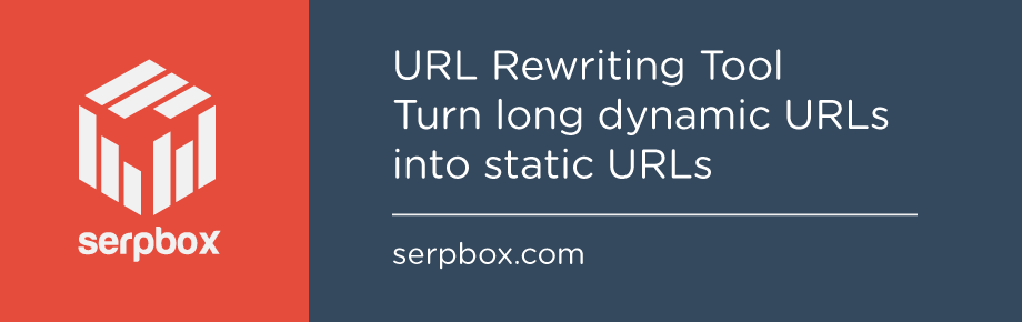 URL Rewriting Tool