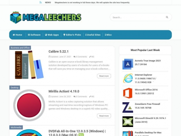 megaleechers.com